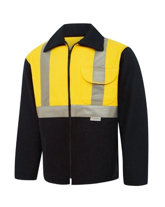 Day/Night High Vis Wool 'Bluey' Jacket