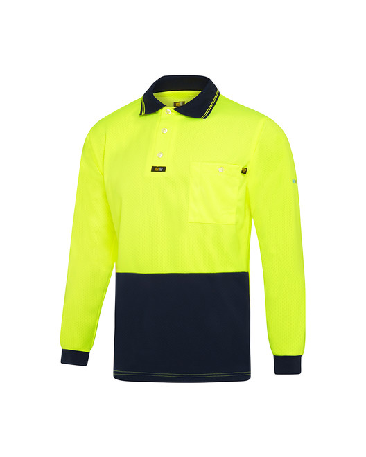 Basic AIRWEAR Polo Shirt Long Sleeve