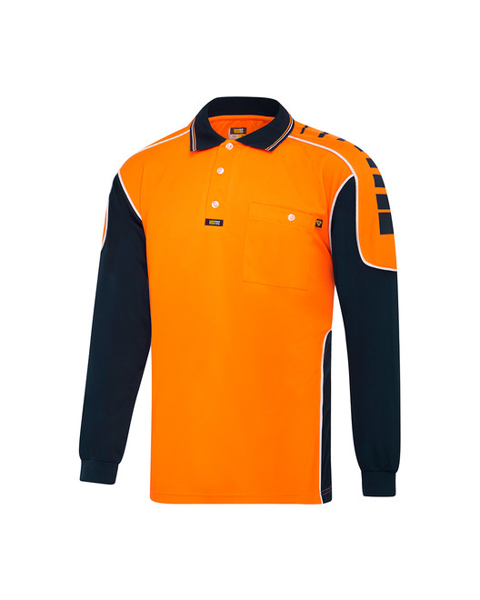Chief Microfibre Polo L/S