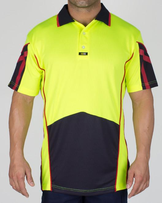 Geo Polo Shirt S/S