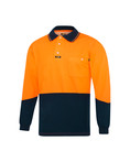 Cotton Backed Microfibre 'Premium'  Polo Shirt L/S (alternate view)